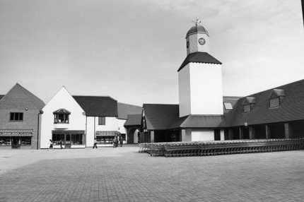 The new town centre in about 1979