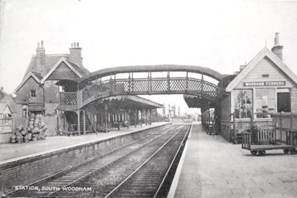 An interwar view of Woodham Ferrers Station